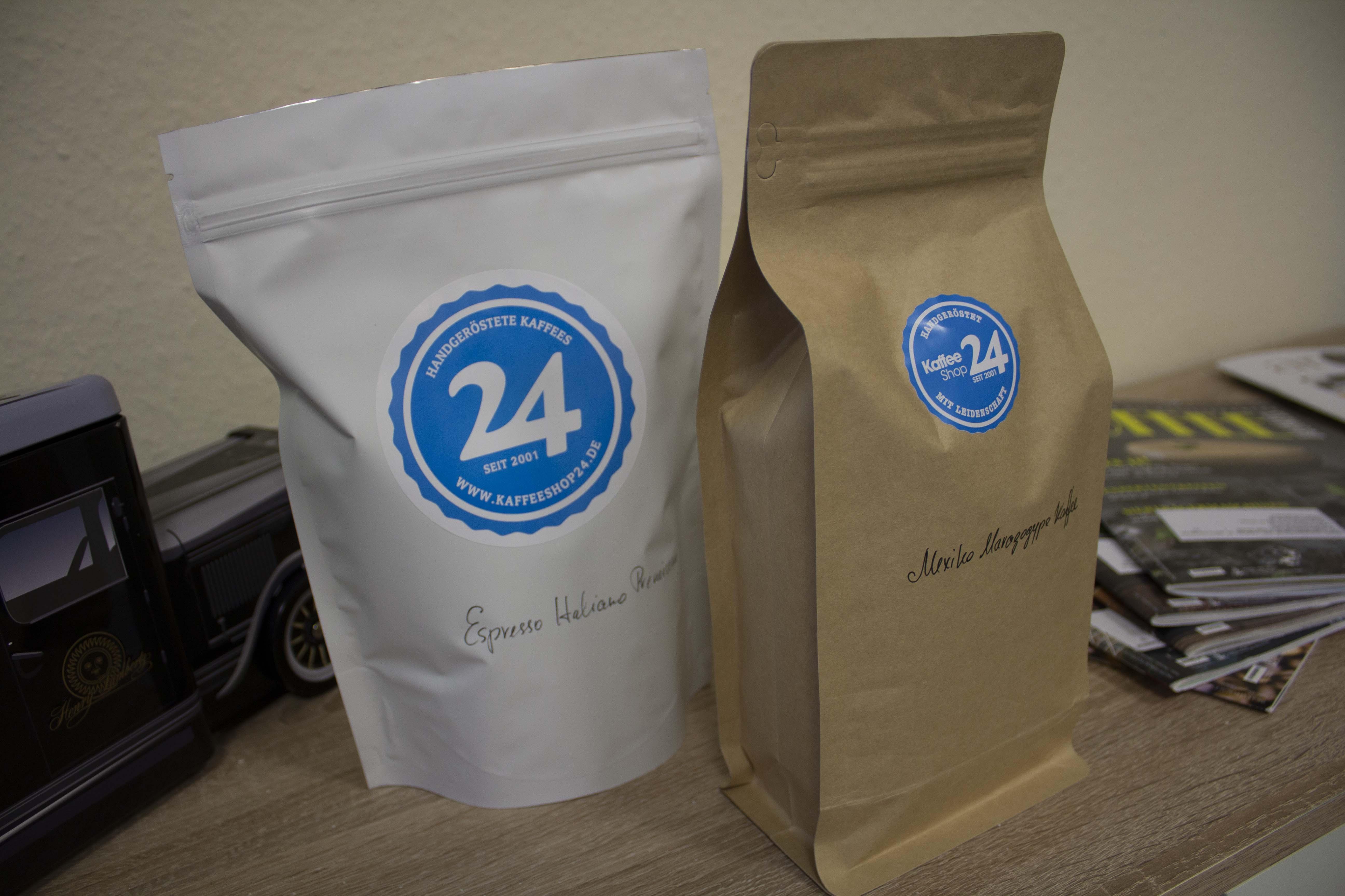 Nachhaltige Kaffeetüten